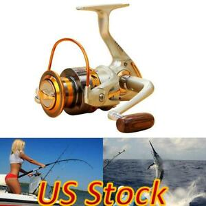 US 12BB Ball Bearing Fishing Spinning Reel Left right Interchangeable Saltwater