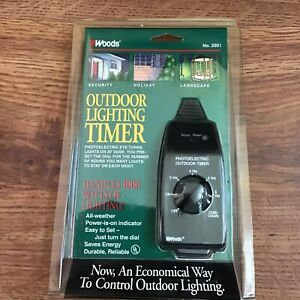 Woods All Weather Outdoor Lightning Timer