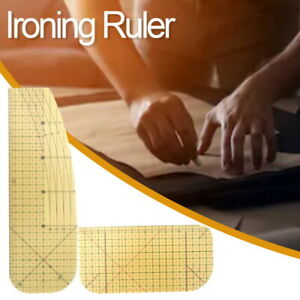 Hot Ironing Measuring Ruler Patchwork Sewing Tool For Clothing Making DIY Sewing $6.99