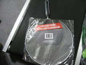 NEW Splatter Screen Fits 11quot; Pans Catcher Skillet Protective Cover