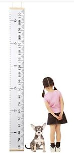 Boy Girl Kids Wall Growth Chart Height Measure Ruler Children Room Decor Gift