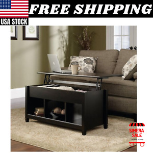 Ktaxon Lift Top Coffee Table Modern Furniture Hidden Compartment and Lift Tablet $148.99