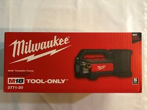 Milwaukee 2771 20 M18 Self Priming Cordless Transfer Pump New in Box