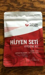 TURKISH AIRLINES HYGIENE KIT SEALED BAG