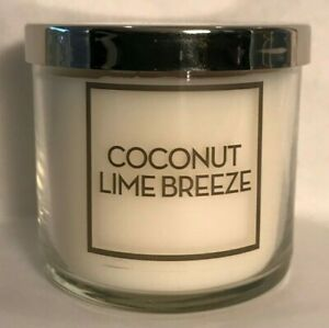 *New* COCONUT LIME BREEZE Single Wick 4 oz. Candle Bath amp; Body Works