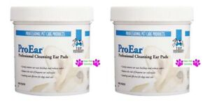 200 p Top Performance ProEar EAR CLEANSING PADS DOG CAT Wipes Wax Odor Cleaning $19.99