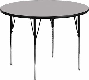 Flash Furniture Round Activity Table Gray XUA42RNDGYTA