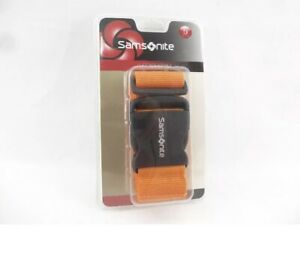 Samsonite Luggage Strap Belt for Travel Bag Juicy Orange New Sealed $12.00
