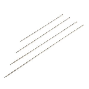 4 Pieces Large Eye Hand Sewing Needles Set with 4 Different Sizes $4.99