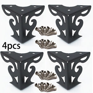 Cabinet Sofa Leg Iron Replacement Supply 4pcs Table Metal Furniture Stand