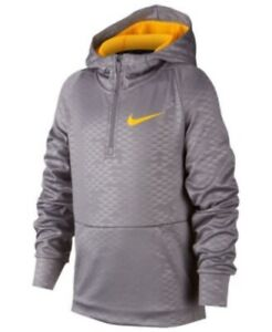 New Nike Big Boys 1 2 Zip Training Hoodie MSRP $50.00 $25.99