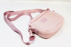 x1 Victoria Secret PINK Purse Shoulder Bag Light PINK Fabric New With Tags