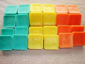 Half Pound Richly Scented Soy Wax Melts Wickless Wax Cubes CHOOSE Scent