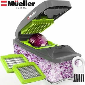 Mueller Austria Onion Chopper Pro Vegetable Chopper Strongest 30% Heavier