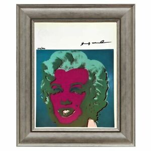 Andy Warhol Original Hand Signed Print with COA High Resale Value $399.00