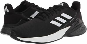 Mens Shoes adidas Running RESPONSE SR Lace Up Athletic Sneakers FX3625 BLACK $67.00