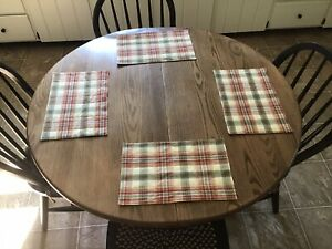 Quilted Country Placemats Set Of 8