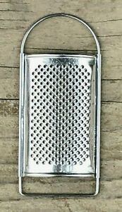 Mini Zester Grater Stainless Steel Sweden Small Curved