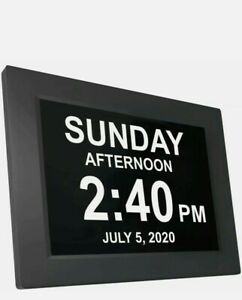 American Lifetime Newest Version Day Clock; Extra Large Impaired Vision Digital