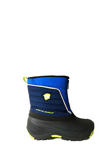 *NEW BOYS ARCTIC SHIELD 20° BLUE BLACK WINTER WATERPROOF SNOW PAC BOOTS TODDLER $22.94