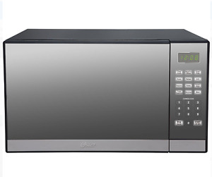 Oster 1.3 .Ft. Stainless Steel with Mirror Finish Microwave Oven with Grill