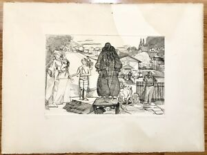 LESTER GOLDMAN Christopher's Friend Andy SIGNED NUMBERED Litho Print Art $529.00