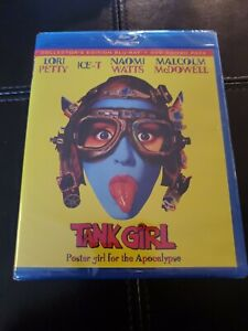Tank Girl Collectors Edition Bluray DVD Combo OOP SHOUT FACTORY NEW