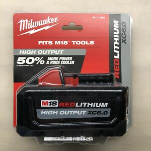 Milwaukee 48 11 1865 M18 6 Amp Battery New 2 DAY SHIPPING