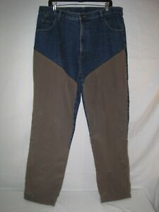 Pheasant Hunting Brush Pants 38 x 32 Jeans Upland Grouse