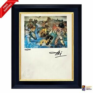 Salvador Dali Original Hand Signed Print with COA $350.00