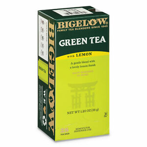 Bigelow® Green Tea with Lemon Lemon 0.34 lbs 28 Box 10346
