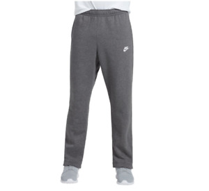 Nike Sweatpants Mens Small to 2XL New Charcoal Gray Authentic Club Fleece Pants