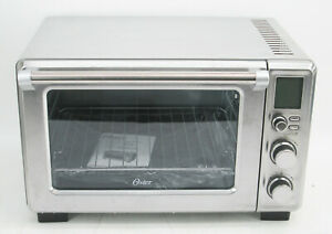 Oster 6 Slice Turbo Convection Toaster Oven Brushed Stainless Steel #2333