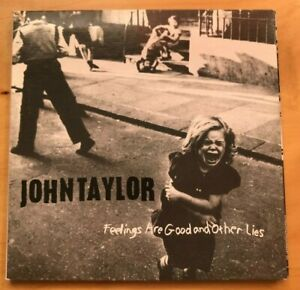 John Taylor duran Feelings Are Good and Other Lies CD Gatefold Inserts 1995 $19.70