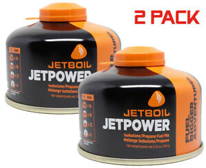 Jetboil Jetpower Fuel 230g. Camping Fuel Gas Canister 2 Pack