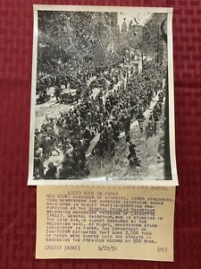 "Original Acme News Photo ""Looks Good On Paper"" MacArthur 1951"