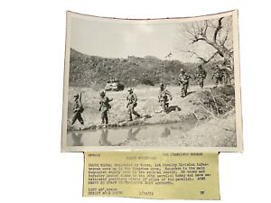 "Original Acme News Phito ""Probe Northward"" Korean War 1951"