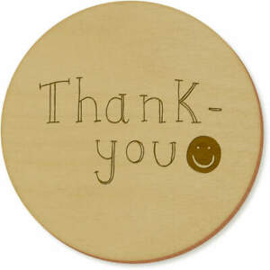 #x27;Thank You Text#x27; Coaster Sets Placemats CR016933 $11.99