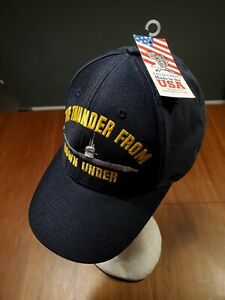Eagle Crest SUBMARINE THUNDER FROM DOWN UNDER Hat Snapback Made in U.S.A NWT $25.00