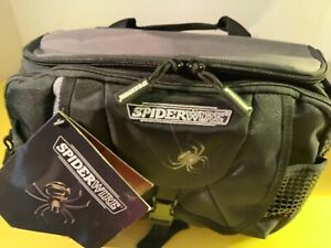 NWT Spiderwire Waist Pack Tackle Bag Fanny Pack Fishing Storage Travel Organizer