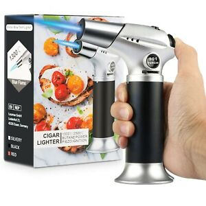Blow Torch Professional Kitchen Cooking Torch with Lock Adjustable Flame $14.99