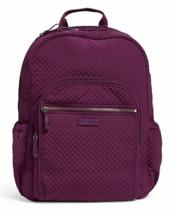Vera Bradley Iconic Campus Gloxinia Purple Backpack $89.85