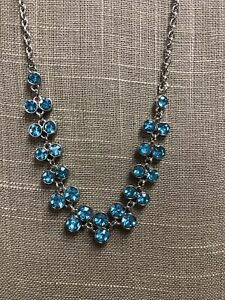Paparazzi Super Starstruck Blue Necklace amp; Earrings