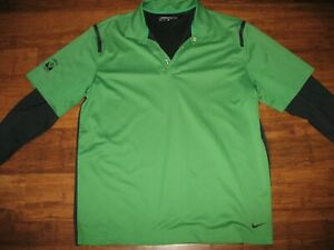 NIKE DRI FIT GOLF SHIRT LARGE LONG SLEEVE TUMWATER VALLEY GOLF COURSE $16.00