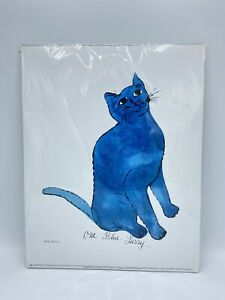 """Andy Warhol quot;One Blue Pussyquot; National Museum NEW Pop Art Litho Print 11"""" x 14"""" $28.99"""