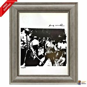 Andy Warhol Original Hand Signed Print with COA High Resale Value $230.00