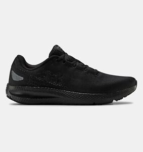 Under Armour Mens UA Charged Pursuit 2 Running Shoes 3022594 003 Black NWB $66.45