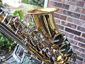 Vito Alto Saxophone *SHOP ADJUSTED* New Accessories Made in Japan Yamaha Clone
