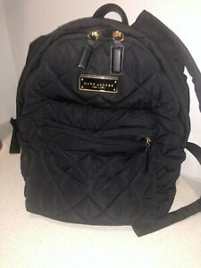 Marc Jacobs Quilted Backpack Black $50.00