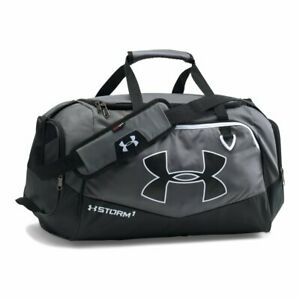 Under Armour Undeniable Duffle 2.0 Gym Bag Gray Black Small nwt $45 $37.99